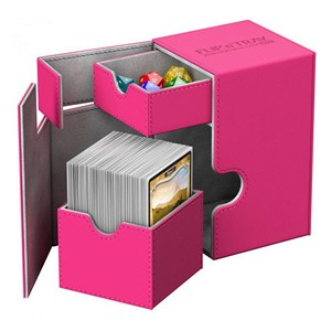 Ultimate Guard Flip'n'Tray Deck Case 100+ (Pink)