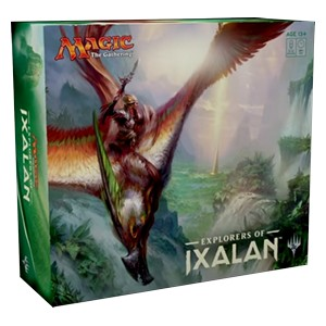 Set completo di Explorers of Ixalan