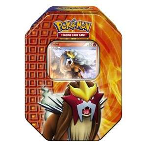 2010 Fall Collector's Tins: Entei Tin-Box