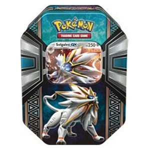 Legends of Alola Tins: Solgaleo GX Tin