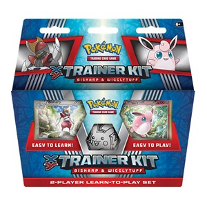 XY Trainer Kit: Bisharp y Wigglytuff