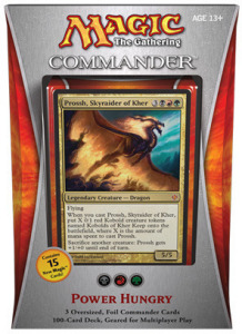 "Commander 2013: ""Power Hungry"" Deck"