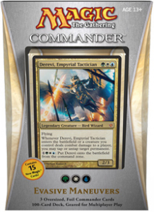 "Commander 2013: ""Evasive Maneuvers"" Deck"