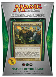 "Commander 2013: ""Nature of the Beast"" Deck"