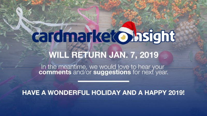 Insight Christmas Break 2018
