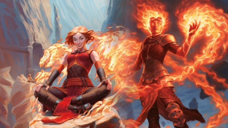 Chandra, Acolyte of Flame; Chandra, Awakened Inferno